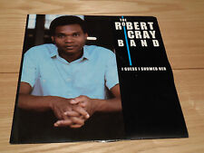 "The Robert Cray Band - I Guess I Showed Her 7"" single - CRAY1 - EXC"