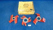 Lot Of 3 Freud Raised Panel Cutters UP160, UC202 & 1 Unmarked Barely Used s2318