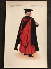 Vintage Postcard - Oxfordshire #17 - Oxford University Robes, Doctor Of Divinity