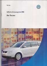 VW SSP 306  Der Touran Selbststudienprogramm
