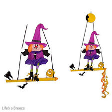 Witch Swingerz Wind Spinner Fly From A Telescopic Flag pole Or Hung In A Garden.