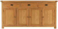 Ribble solid oak furniture extra large living dining room sideboard