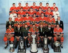 1959(B) MONTREAL CANADIENS TEAM PHOTO 8X10