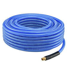 "100' ft Air Hose 3/8"" inch Ironflex Braided Polyprothane 200 PSI"