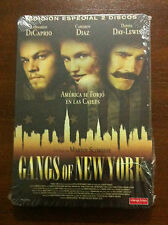 GANGS OF NEW YORK - 2 DVD STEELBOOK - NEW AND SEALED - NUEVA SIN ABRIR
