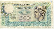 ITALIE ITALY ITALIA 500 L 1974 état voir scan 833