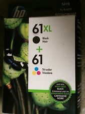 HP Genuine 61XL Black & 61 Tri-Color Ink Cartridges Combo BRAND NEW