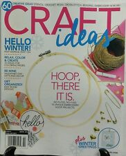 Craft Ideas Winter 2016 Hoop There It Is Relax Color Create FREE SHIPPING sb