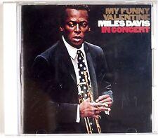 MILES DAVIS: My Funny Valentine JAPAN Pressing Audiophile CD