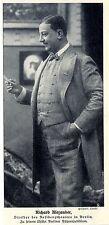 Richard Alexander Direktor Residenztheater Berlin Historische Aufnahme von 1908