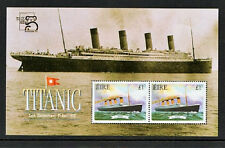 TITANIC IRELAND 1999  FX30 AUSTRALIA  EXHIBITION MINIATURE SHEET SCARCE