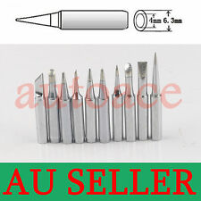 10PCs SOLDER SOLDERING IRON STATION Tips 900M-T Rework Lead Free