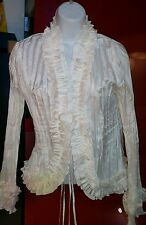 Simon Chang size 4 women's old fashioned style blouse very good condition