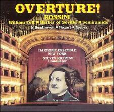 """OVERTURE: TRANSCRIPTIONS for CLASSICAL WIND ENSEMBLE"" cd - Rossini / Beethoven"