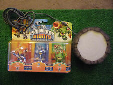 SKYLANDERS GIANTS 3 FIGURE TRIPLE PACK ( CHILL , IGNITOR & ZOOK) + PORTAL BUNDLE