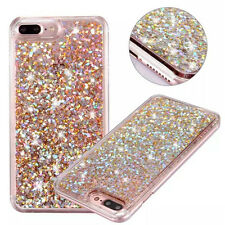 For iPhone 6 7 Plus Crystal Case Glitter Liquid Quicksand Shockproof Phone Cover