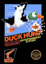 DUCK HUNT Nintendo Entertainment System NES Framed Print (Man Cave Picture Game)