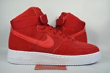 NEW Nike Air Force 1 High GYM RED SUEDE 315121-604 sz 8