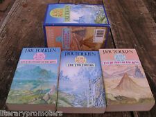LORD OF THE RINGS BOX SET 3 By J R TOLKIEN Unwin Vintage 1989 Good to Very Good
