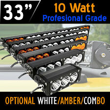 Pro-Grade LED Work Light Bar – 180w 33 Inch - 10w CREE LED's 12v,24v,4x4 Offroad