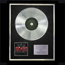 AC/DC BLACK ICE CD PLATINUM DISC FREE P+P!!