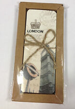 30 Eiffel Tower / London / Famous Land Marks Book-Marks In Gift Box