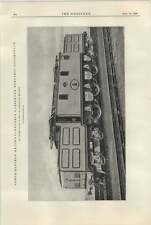 1922 North Eastern Railway Express Passenger Electric Locomotive Vincent Raven