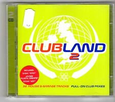 (GN70) Various Artists, Club Land 2 - 1997 double CD