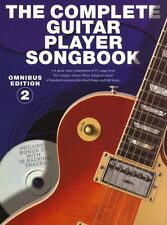 Complete Guitar Player Songbook Omnibus Learn to Play Guitar Music Book 2 & CD