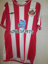 Sunderland 2009-2010 Home Football Shirt Size Small /20801 made by umbro