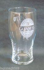 Guinness 250 Years Commemorative Pint Glass Beer Pub Home Bar Unused