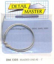 DETAIL MASTER 1/24-1/25 Braided Line #5 (.060 DET1305