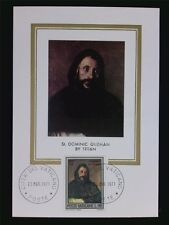 Vatican Mk 1971 St. Dominic maximum tarjeta Carte maximum card mc cm c6314
