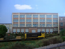 #128 HO scale background building flat   LARGE FACTORY #2   *FREE SHIPPING*