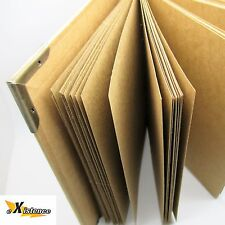 40 SHEET PREMIUM KRAFT PHOTO ALBUM ring binder scrapbook guestbook WEDDING GIFT
