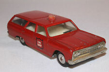1964 Chevrolet Chevelle Fire Wagon, Cragstan,  Sabra 1/43 Scale, Made in Israel