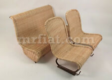 Fiat 500 600 Jolly Wicker Seat Set Recovering Service