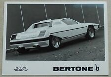 Ferrari Dino Rainbow Bertone Photo Press book buch brochure prospekt depliant