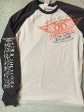 AEROSMITH 2005-2006 Rock'n'Roll Tour Vintage Concert Medium Long Sleeve T-Shirt