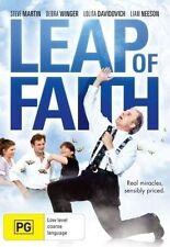 LEAP OF FAITH Steve Martin DVD R4 NEW - PAL