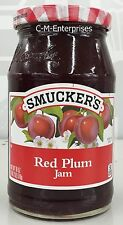 Smucker's Red Plum Jam 18 oz Smuckers