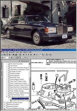BENTLEY / ROLLS ROYCE Workshop & Service Manual CD '81-'87!
