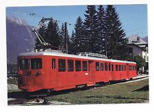 FRANCE     -   Railcar train on the Chamonix-Montenvers Line in 1979