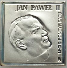 "POLAND  2003  20 ZLOTYCH SILVER COIN,  ""POPE JOHN PAUL II ""  GEM PROOF!"