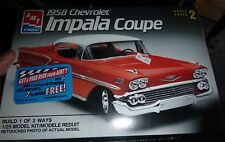 AMT 1958 Chevy Impala 1/25 Model Car Mountain KIT FS 1/25 8548