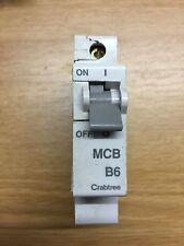 Crabtree Starbreaker B6 MCB