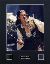 Orlando Bloom Ver5 Signed Photo Film Cell Presentation