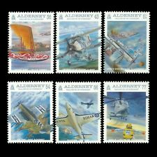 Alderney 2009 - 100th Anniv of Naval Aviation Aircraft Military - Sc 350/5 MNH