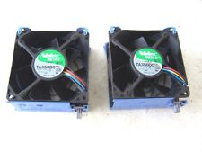 Computer Cooling Fans 12VDC 1.0A 92mm. Nidec BETA V TA350DC Case Fans lot of 2