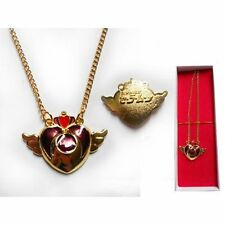 SAILOR MOON MARS JUPITER MERCURY VENUS ANIME COSPLAY COLLANA NECKLACE CUORE #1
